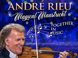 ANDRE RIEU - MAGICAL MAASTRICHT (U)  -  New Layout  Image